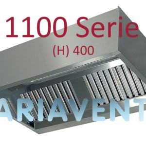 """Afzuigkappen """"Doos""""model 1100 serie (H) 540"""