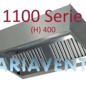 """Afzuigkappen """"Doos""""model 1100 serie (H) 400"""
