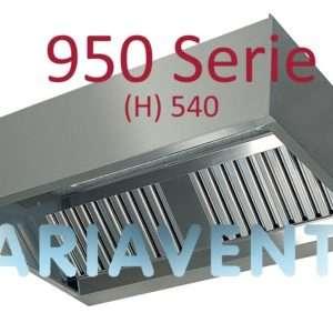 """Afzuigkappen """"DOOS""""model 950 serie (H) 540"""