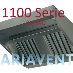 Afzuigkappen ''Schuin''model 1100 serie (H) 540