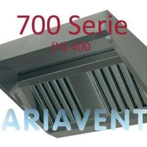 Afzuigkappen ''SCHUIN''model 700 serie (H) 400