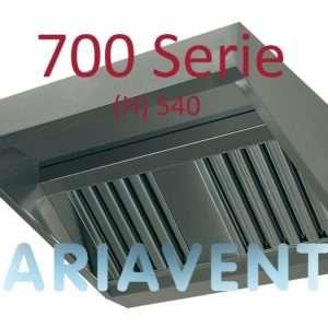 Afzuigkappen ''SCHUIN''model 700 serie (H) 540