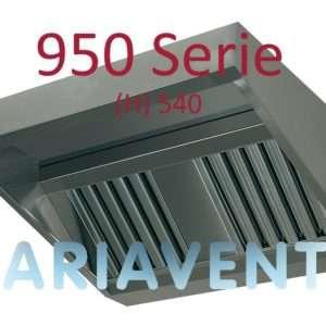 Afzuigkappen ''SCHUIN''model 950 serie (H) 540